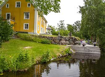 Manor house to rent in Sweden